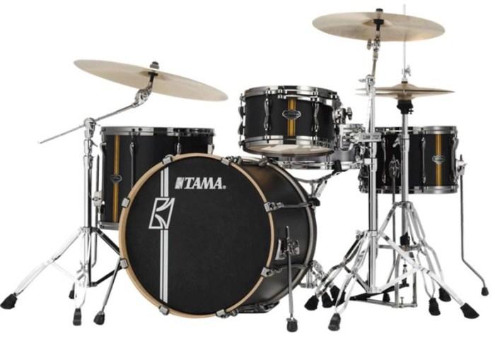 tama-ml40hzbn2-superstar-hyperdrive-maple-4-piece-shell-pack-flat-black-vertical-stripe-538950